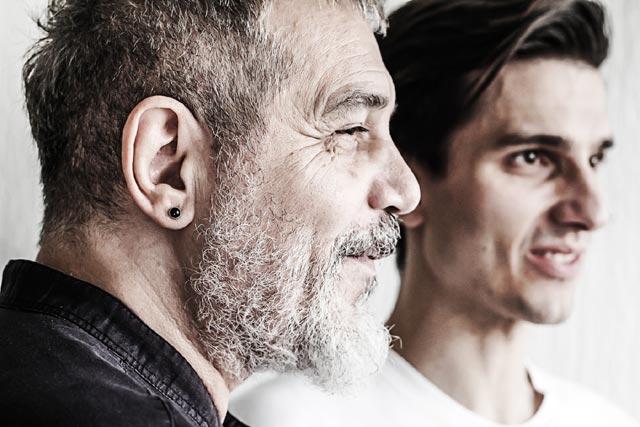 Jorgos and Antonis Skolias